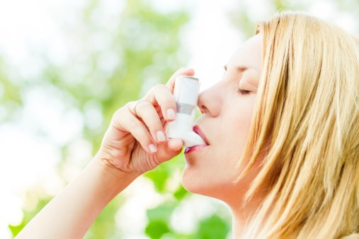 """""""The risk for pneumonia, in particular, serious pneumonia leading to hospitalization, in asthma patients is indeed elevated in relation to inhaled corticosteroid use."""""""