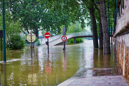 Flooding events may pose significant challenges to malaria control.