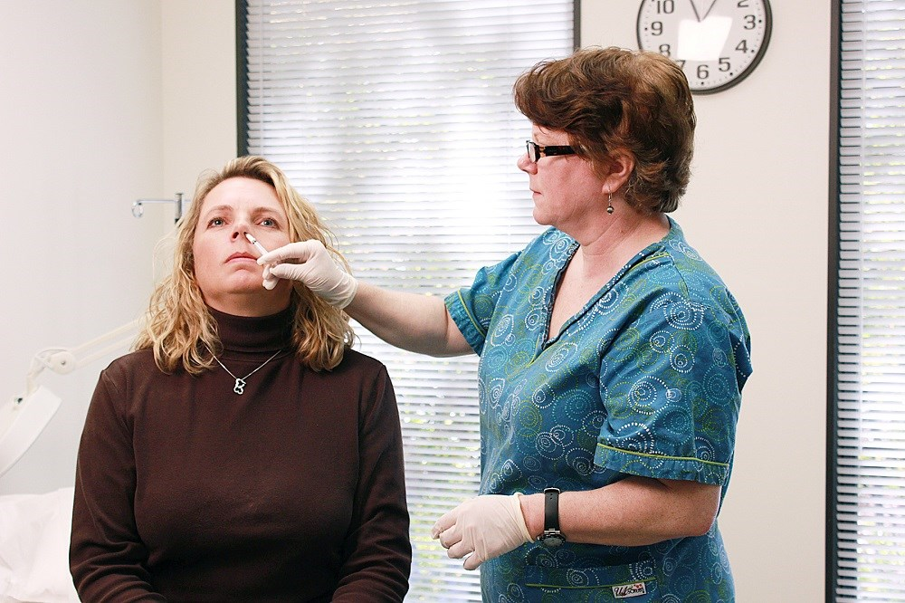 No safety signals were observed with the administration of quadrivalent live attenuated influenza vaccine. <i>Photo Credit: Douglas Jordan, MA.</i>