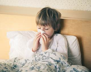 Antibiotics may be beneficial in children with prolonged wet cough