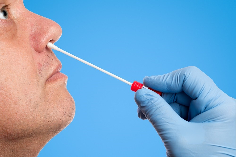 Midturbinate swabs provided a more comfortable experience for patients compared with traditional nasopharyngeal swabs.
