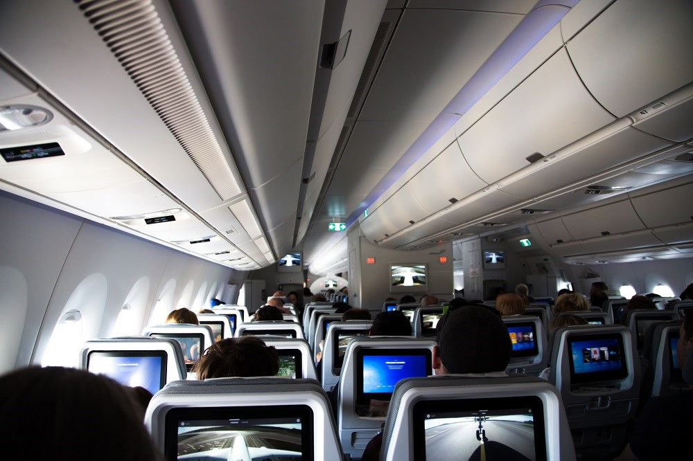 In-Flight Transmission of Respiratory Diseases Low