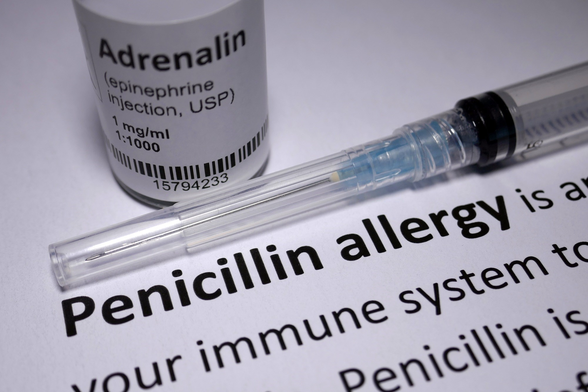 A new penicillin allergy review recommends that clinicians perform a comprehensive allergy history to assess risk level.