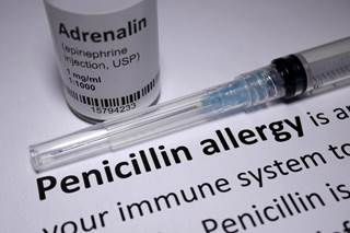 Penicillin allergies are commonly reported but rarely accurate